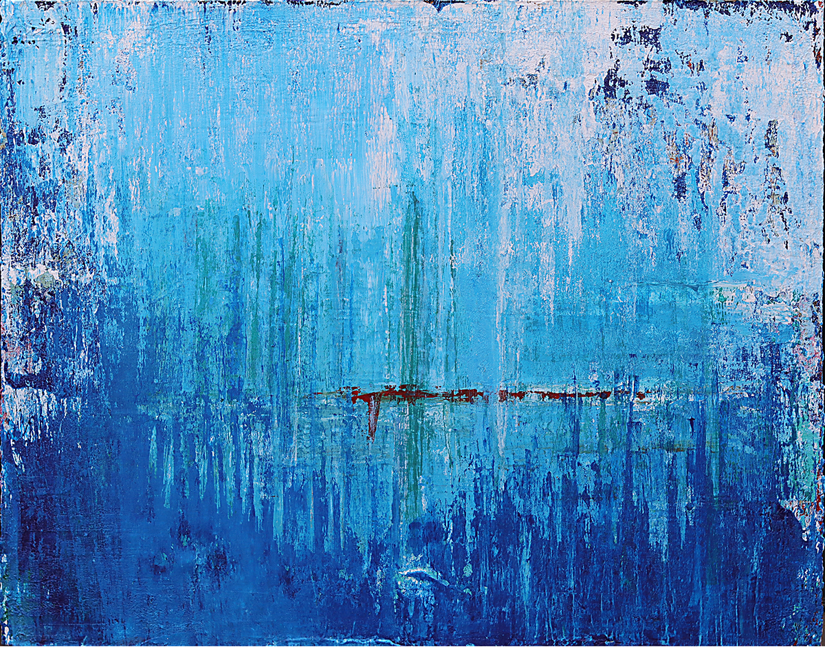 Blue Untitled 1